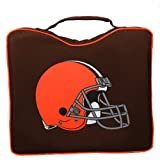 cleveland browns stadium seat - NFL Lightweight Stadium Bleacher Seat Cushion with Carrying Strap, Cleveland Browns