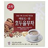 GOHYANG KOREAN Traditional Almond Pinenuts Walnuts Job's Tears Tea_18g x 15 Tea Bags_Product of Korea (아몬드, 잣, 호두율무차)