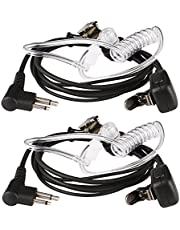 Retevis Auriculares para Walkie Talkie 2 Pines Tubo Acústico Pinganillo Compatible con Motorola CP040 DP1400 GP68 GP88 GP300 GP2000 CT150 Pro1150 HYT TC-500 TC-600 Walkie Talkies (2 Pacs)