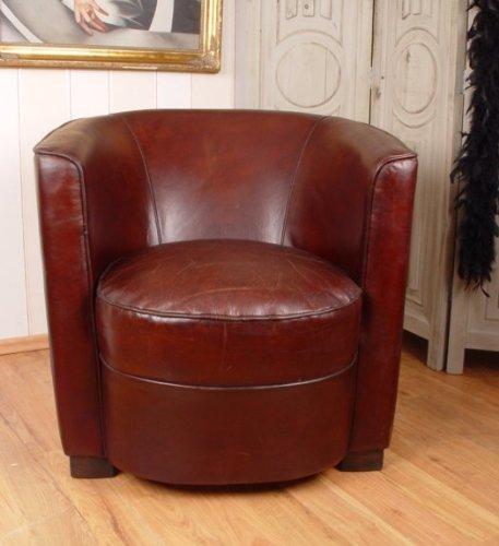 Klassiker Der 20er Jahre Art Deco Leder Sessel Cubus Palazzo