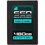 "Inland Professional 480GB SSD 3D NAND SATA III 6Gb/s 2.5"" 7mm Internal Solid State Drive (480G)"