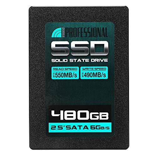 Inland Professional 480GB SSD 3D NAND SATA III 6Gb/s 2.5