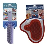 Everholder FURemover Brush and Mitt Combo (Colors Vary) from Evriholder