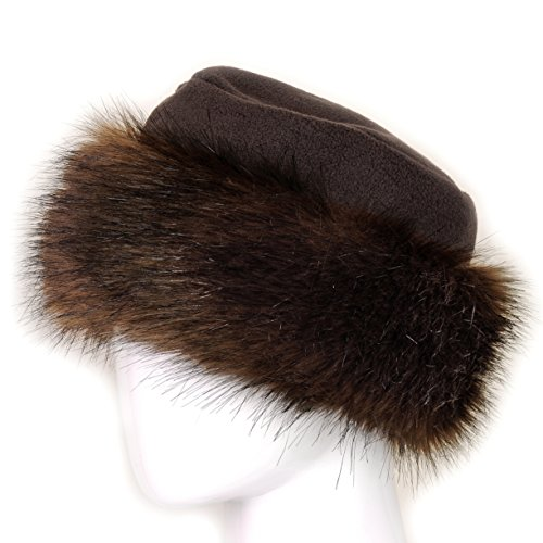 9d8e0079964 Futrzane Faux Fur Hat with Fleece Winter Ladies Women (M