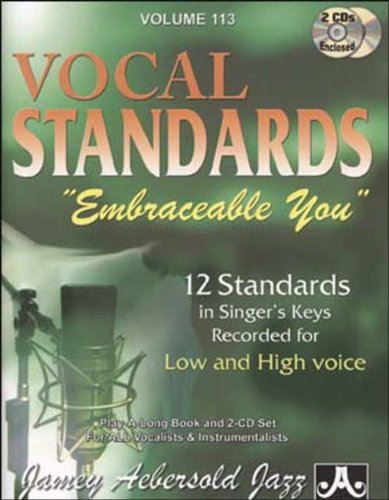 Play-A-Long Series, Vol. 113, Embraceable You - Ballads For All Singers (Book & 2-CD Set)