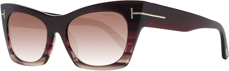 Tom Ford FT0459 5571F Sonnenbrille FT0459 71F Cateye Sonnenbrille 55 -