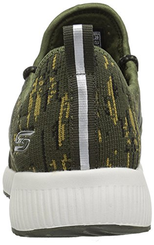 Donna Verde Bobs Skechers Sneaker Dare double Infilare Squad Y0q0wd6