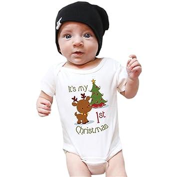 Zantec neoglory Vestido Papá Noel, Traje de bebé para niños ...