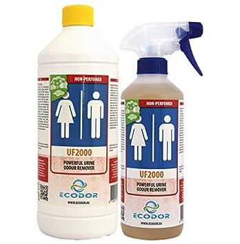 Ecodor Uf2000 Lufterfrischer Urin Fäzes Vomis Sparpaket 15 L