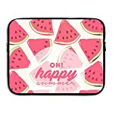 Reteone Laptop Sleeve Bag Summer Watermelon Painting Cover Computer Liner Package Protective Case Waterproof Computer Portable Bags