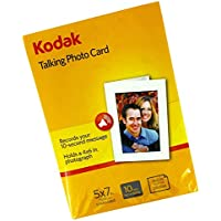 Kodak 5x7 Inch Talking Photo Card (Pack of 3)