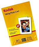 Record a 10-second message to create truly personalized invitations and cards for any occasion including birthdays, anniversaries, weddings and many other special events. Kodak Licensed Product. Insert your own photo and enjoy the magic.