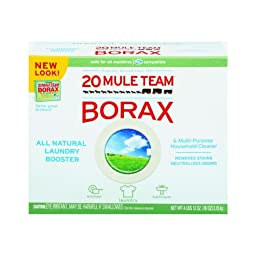 20 Mule Team Borax Laundry Booster, Powder, 4 Pounds
