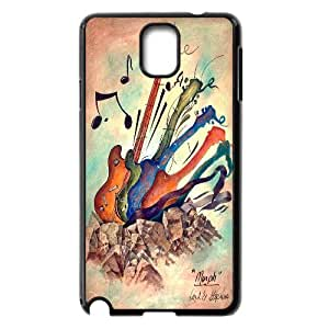 JenneySt Phone CaseLove Music Love Guitar For Samsung Galaxy NOTE3 Case Cover -CASE-1