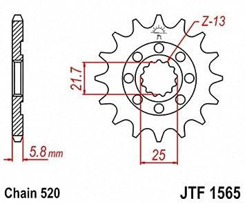JT Sprockets JTF1565.12 12T Steel Front Sprocket