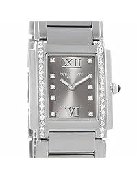 Patek Philippe Twenty 4 quartz womens Watch 4910/10A-010 (Certified Pre-owned)