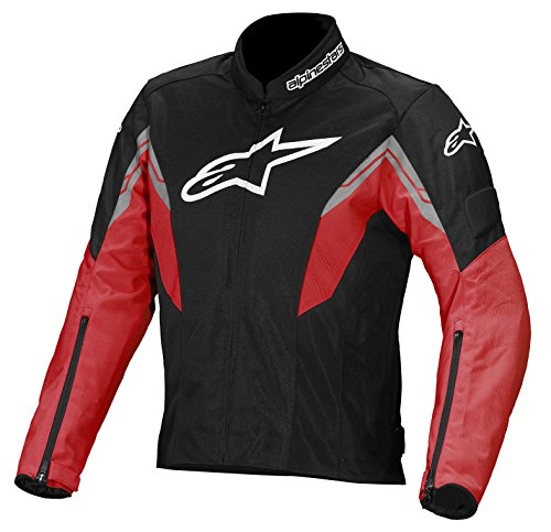 Alpinestars Viper Air Textile Jacket, Gender: Mens/Unisex, Primary Color: Black, Size: Lg, Apparel Material: Textile, Distinct Name: Black/Red/White 3302713-132-L (Air Jacket Textile)