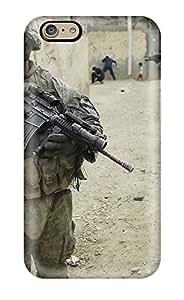 HKJxzRL4417cZEQO AmandaMichaelFazio Warzone Soldiers Durable Iphone 6 Tpu Flexible Soft Case