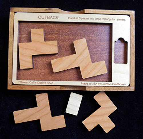 Creative Crafthouse Outback Puzzle - Stewart Coffin Design #222 - Very Difficult