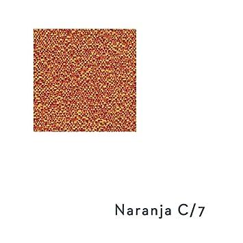 Cubre Sillón Relax Modelo ARIZONA, Color NARANJA C/7, Medida 55cm respaldo