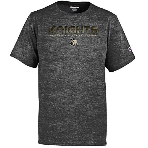 Champion NCAA Kids Youth Boy's Granite Short Sleeve Jersey Shirt, UCF Golden Knights, Large