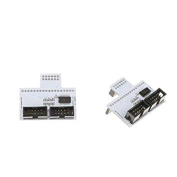 F Fityle 2 Piezas Impresora 3D LCD Panel Adaptador Ramps-FD de ...