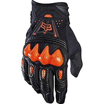 Gloves Fox Bomber Lt Black//Orange Xl