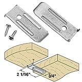 Platte River 941392, 50-pack, Hardware, Table, Table Leaf Hardware, 14 Gauge Leaf Leveler