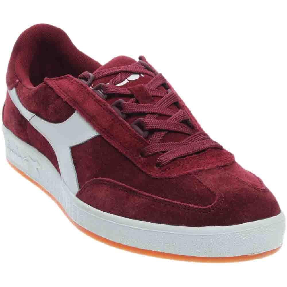 Diadora Men's B. Original Tennis Shoe B01CCC3MDU 9 D(M) US|Tibetan Red/White