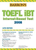 img - for Barron's TOEFL iBT Test of English as a Foreign Language with Audio CDs book / textbook / text book