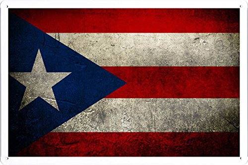 Puerto Rico Metal (Maria's Decor Tin Sign Metal Poster Plate Painted Modern Wall Decoration Art 8