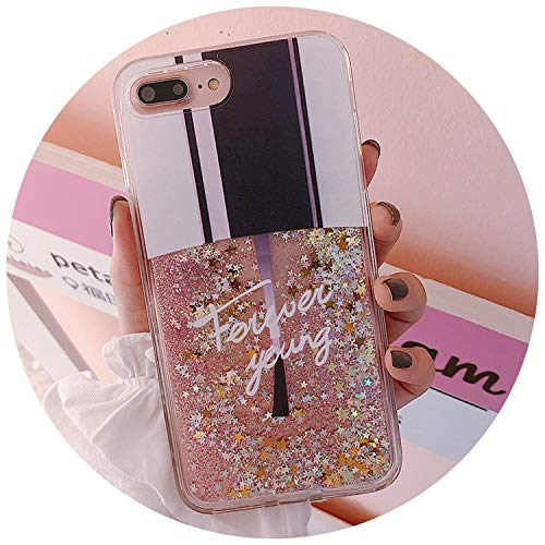 Liquid Glitter Case for iPhone 7 8 6 6s Plus Cases for iPhone X XS Max XR Case Cat Perfume Bottle Quicksand Dynamic Cover Coque,Nail Polish,for iPhone Xs