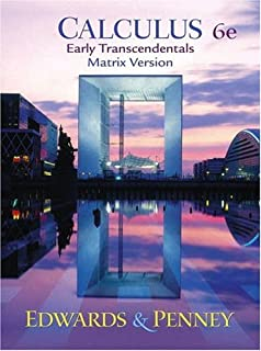 Calculus early transcendentals c henry edwards david e penney calculus early transcendentals matrix version 6th edition fandeluxe Gallery