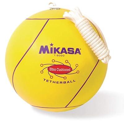 Mikasa Sports Tetherball, Ultra Cushioned - Yellow : Tetherball Equipment : Sports & Outdoors