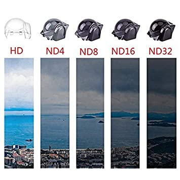 Gimbal Camera Lens Filters Protection Cover for DJI Mavic PRO// Platinum Gimbal Lock Guard with Filter Effect UV ND8 ND32 Filters ND32