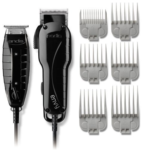 Andis Men's Electric Hair Clippers and Hair Trimmers Combo Set with BONUS FREE OldSpice Body Spray Included by Andis