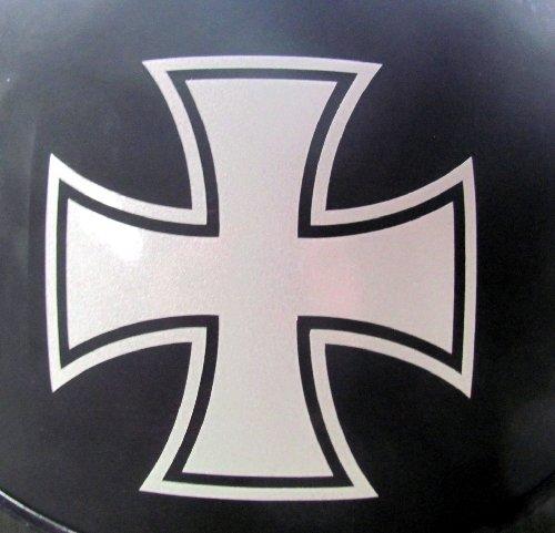 Iron Cross Decal - Reflective Maltese Cross - 3