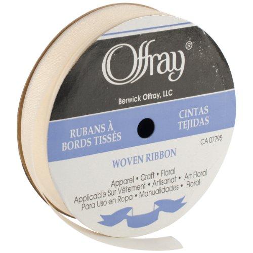 - Lady Chiffon Ribbon 7/8''X15yd-Cream