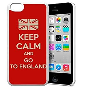 diy phone caseKeep Calm and Go To England Pattern HD Durable Hard Plastic Case Cover for iphone 4/4s Design By GXFC Casediy phone case