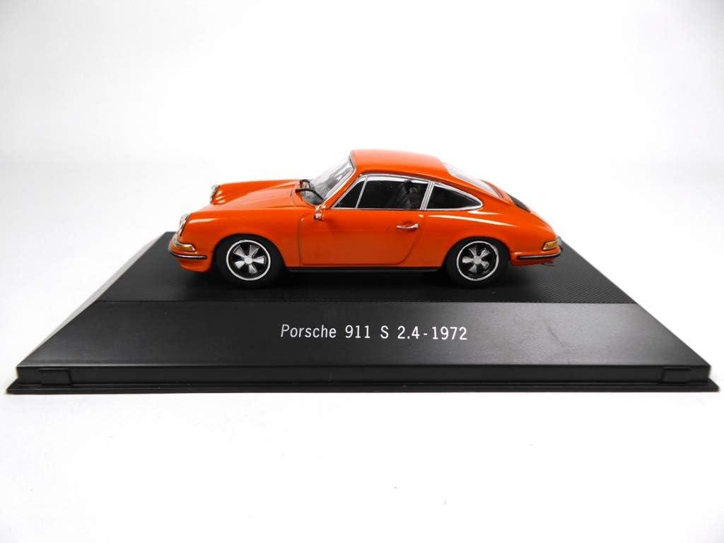 Atlas Porsche 911 S 2 4 1972 Orange1 43 Ref 4010 Spielzeug
