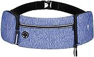 Waterproof Fanny Pack Waist Bag Pack for Men Women with Water Bottle Holder Adjustable Strap Hip Bum Bag Suita