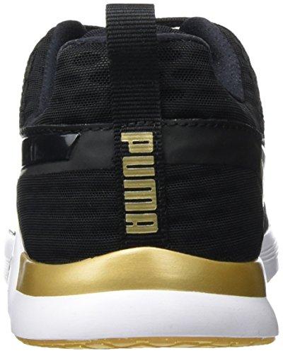 XT Puma gold Hallenschuhe Schwarz 02 WNS Gold Pulse Black Puma Damen V2 vOgOEr
