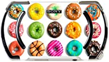 Bright Colorful Donuts Doughnuts Yummy PSP Go Vinyl Decal Sticker Skin by Debbie's Designs by Debbie's Designs
