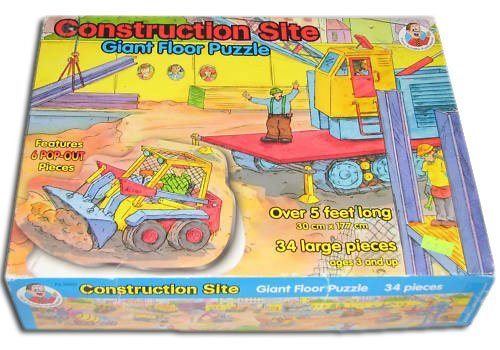 ant 34 Large Pieces Floor Puzzle (Over 5 Feet Long) ()