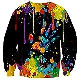 Yasswete Unisex Graphic Ugly Christmas Sweaters