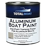 TotalBoat Aluminum Boat Paint (Khaki, Quart)