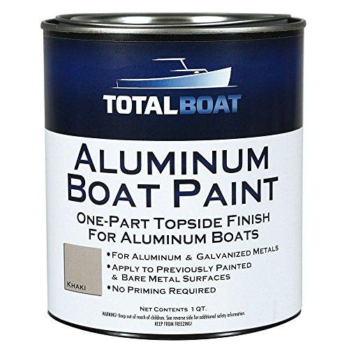 (TotalBoat Aluminum Boat Paint (Khaki, Quart))