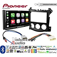 Volunteer Audio Pioneer AVH-W4400NEX Double Din Radio Install Kit with Wireless Apple CarPlay, Android Auto, Bluetooth Fits 2009-2016 Nissan 370Z