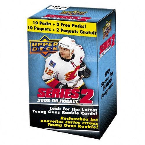 09 Trading Card Box - 2008-09 Upper Deck Series 2 Hockey Trading Cards - Blaster Box