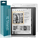 Kindle Oasis Screen Protector, IQ Shield Matte Full Coverage Anti-Glare Screen Protector + Full Body Skin for Kindle Oasis (7', 2017) Bubble-Free Film
